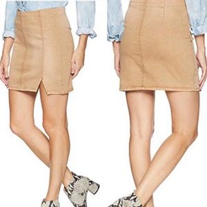 NWT Free People Femme Fatal Pull On Skirt Small